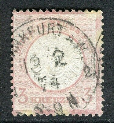 GERMANY  1872 early classic Shield issue fine used 3k. value , fair Postmark
