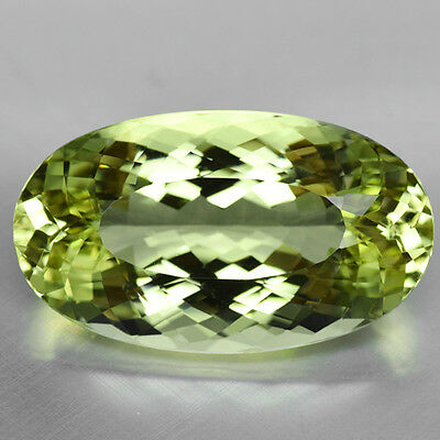 32.75Cts Mesmerizing Luster Natural Brazilian Beryl Video Link In Description