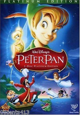 Peter Pan (Platinum Edition 2-Disc DVD Set) It Will Live in Your Heart Forever!