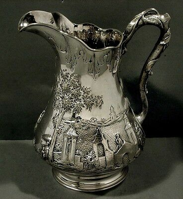 Eoff & Shepard Silver Pitcher    GENERAL  JOHNSON               Was $4200- $2900