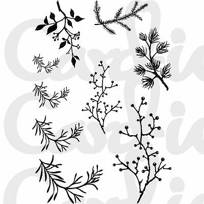 New Card-io Clear Stamps Branching Out