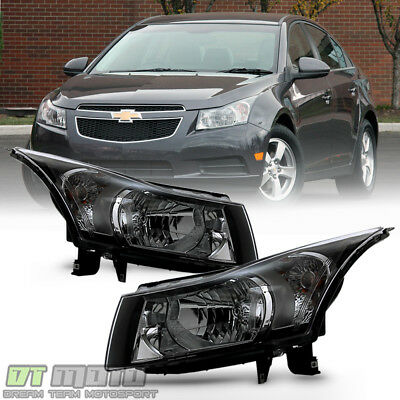 2011-2015 Chevy Cruze Headlights Headlamps Lights Aftermarket Left+Right 11-15