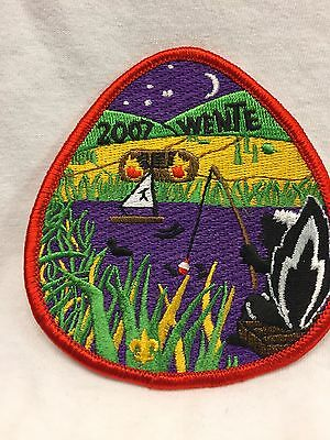 Boy Scouts Of America BSA 2007 Camp Wente Embroidered Patch