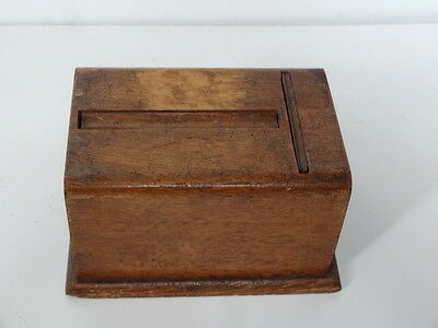 Vintage Wooden Pat No 49 Box