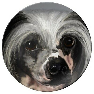 Porcelain Plate - Chinese Crested