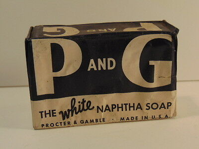 Vintage unopened package of P & G - The White Naphtha Soap