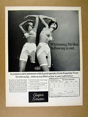 1968 Exquisite Form Bra & Panty Girdle lingerie 2 women photo vintage print Ad