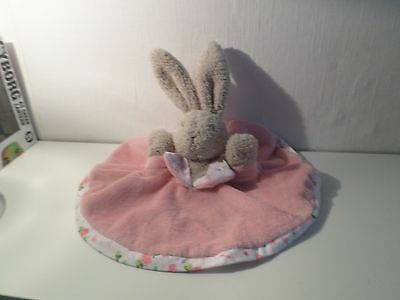Baby Pink Jelly Cat Comforter Jelly Kitten Rabbit Comforter Toy