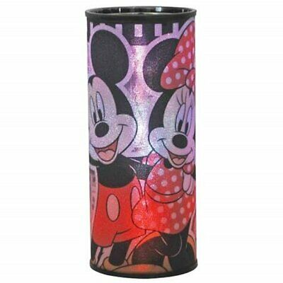 Walt Disney Mickey and Minnie Cylindrical Changing Colors NightLight NEW BOXED