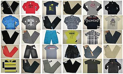 NWT 100 Youth Big Boy Top Shirt Jean Pant Mixed Resale Lot S to XL