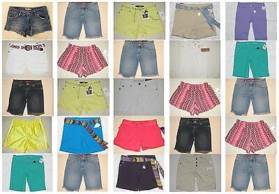 NWT 25 Youth Girl Epic Thread Levis Puma Jessica Simpson Short Resale Lot NEW