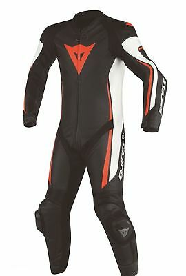 Dainese 1513447 LEATHER SUIT MOTORCYCLE RACING 1 Piece Ate sw-ws-fluorot N32