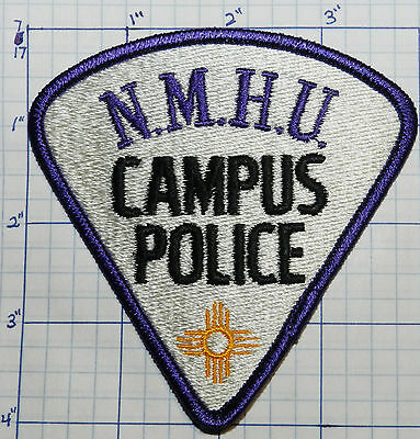 New Mexico Highlands University Campus Police Nmhu Patch
