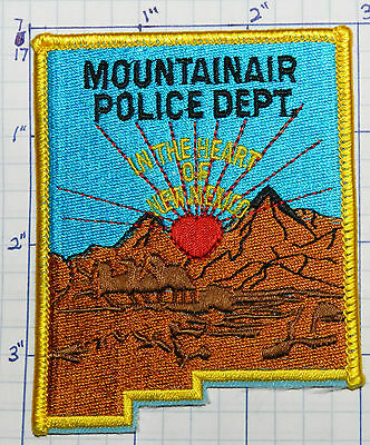 New Mexico, Mountainair Police Dept Scenic Patch