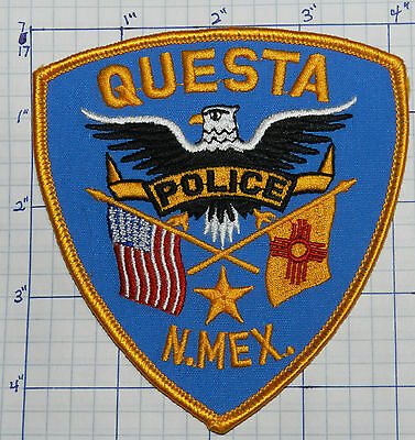 New Mexico, Questa Police Dept Eagle Patch