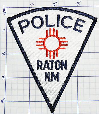 New Mexico, Raton Police Dept White Patch