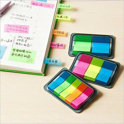 Sticky Notes Paper Diary Notebook Memo Pad Tab Note Book Office