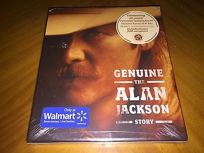Genuine: The Alan Jackson Story 3CD + Poster Walmart Excl. Box Set  NEW & SEALED