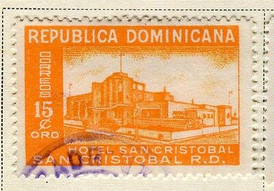 DOMINICA;  1950 early Hotel issue fine used 15c. value