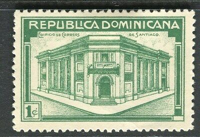 DOMINICA;   1936 early GPO building issue fine Mint hinged 1c. value