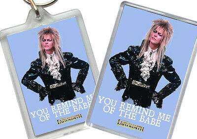 David Bowie - Labyrinth - Fridge Magnet - Keyring