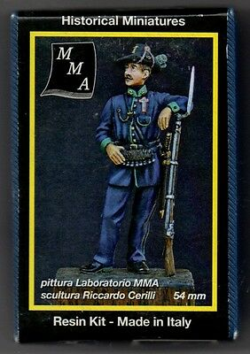 MMA MINIATURES 54-054 - BATTAGLIONE UNIVERSITARIO ROMANO 1848-49 - 54mm RESIN