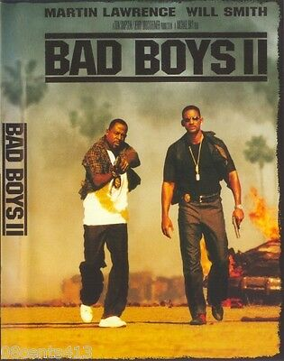 Bad Boys II (Widescreen 2-Disc Set DVD) M Lawrence, Will Smith *Rated-R*