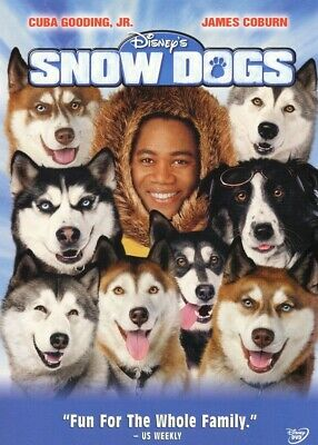 Snow Dogs (Fullscreen Children's DVD) Cuba Gooding Jr., James Coburn **NEW**