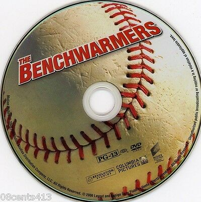 The Benchwarmers (DVD) Rob Schneider, Jon Heder, David Spade **Disc Only**