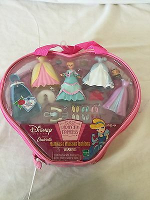 Disney Perfectly Princess CINDERELLA little doll set lucifer S6