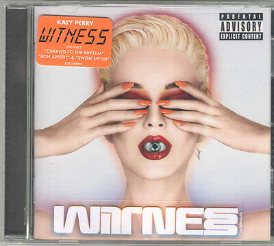 Katy Perry - Witness [PA] Explicit [CD] Swish Brand New & Sealed