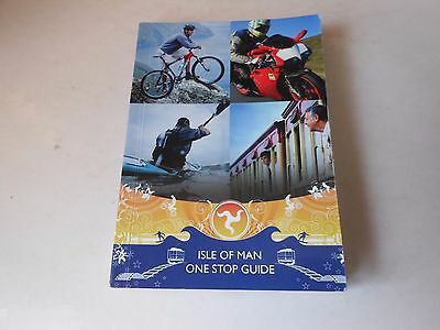ISLE OF MAN  paperback book used  ONE STOP GUIDE  192 pages