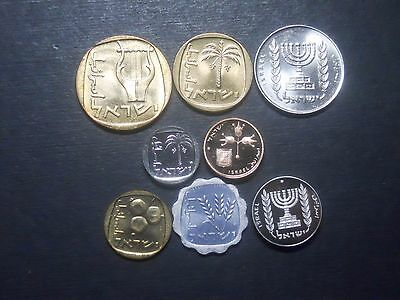 3403 - Israel - Eight Coins With Pieforts