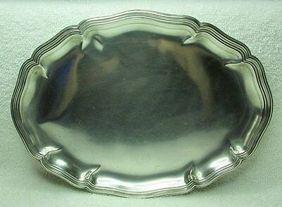 Vintage 830 German Silver Tray With Touch Marks