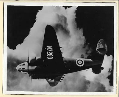 WW2 RAF Lockheed Hudson Bomber N7280 8x10 Original Photo