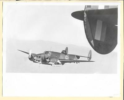 WW2 RAF Lockheed Hudson Bomber AE658 8x10 Original Photo