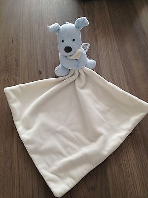 Marks And Spencer Baby Boy Comfort Blanket Brand New
