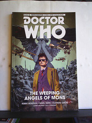 GRAPHIC NOVEL: DOCTOR WHO  - TENTH DOCTOR - THE WEEPING ANGELS OF MONS Paperback