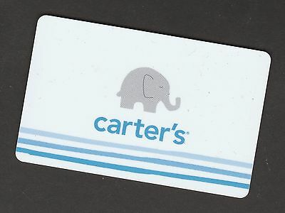 Carter's no value collectible gift card mint #01 Elephant
