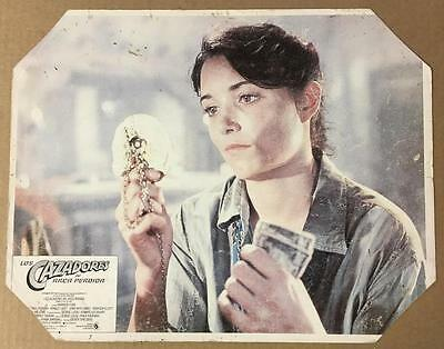 Karen Allen with headpiece Raiders of the Lost Ark 1981 #7 org. lobby card 1149