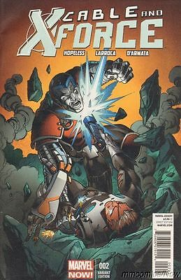 Cable and X-Force #2 Bagley Variant Marvel Comics Now Uncanny Avengers