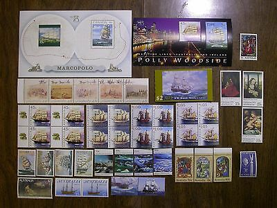 Australian Unused Collection of Blocks, Sets, Book - $29.33 Face Value