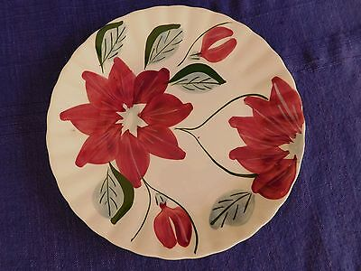 "Blue Ridge Southern Pottery Poinsettia 8-1/2"" LUNCHEON PLATE have more items"