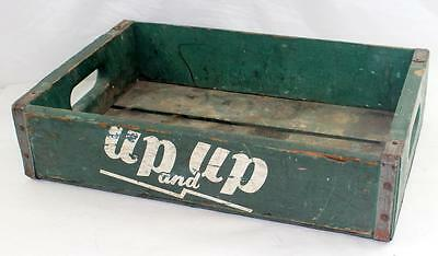 Rare Vintage Up and Up Soda Crate