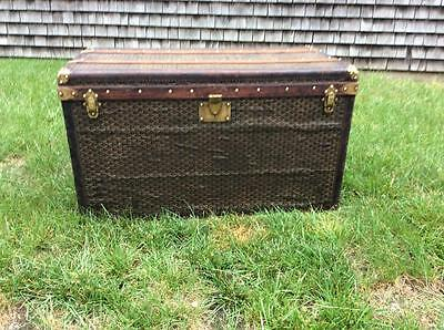 *authentic* Antique French Goyard Travel Trunk