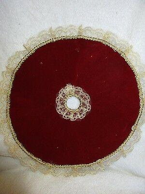 Collectible Small Christmas Tree Skirt Holiday Decorations