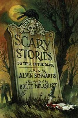 NEW Scary Stories to Tell in the Dark By Alvin Schwartz Paperback Free Shipping