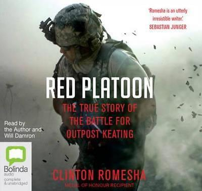 NEW Red Platoon By Clinton Romesha Audio CD Free Shipping