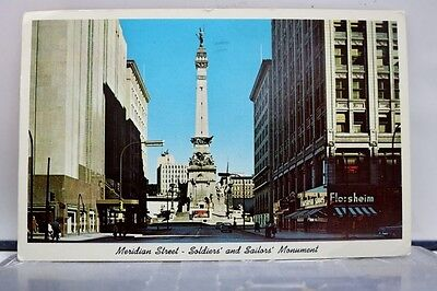 Indiana IN Soldiers Sailors Monument Indianapolis Postcard Old Vintage Card View