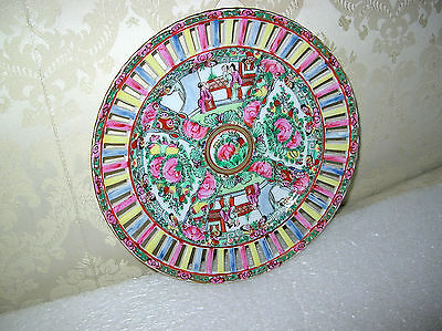 Japanese Rose Medallion Reticlated Plate